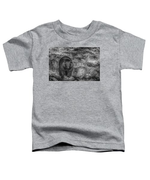 Thornton Creek Black Bear Toddler T-Shirt