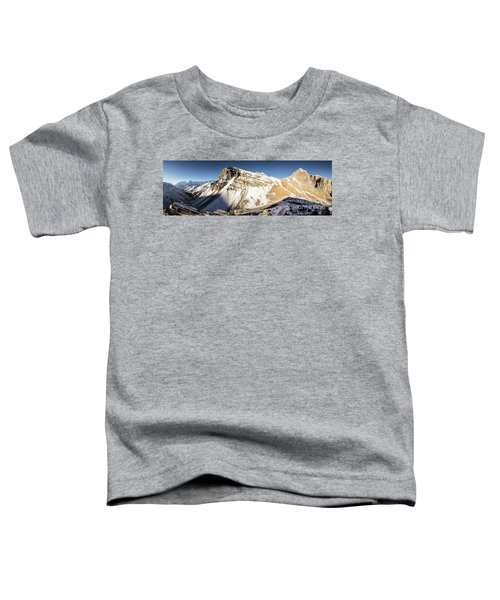 Thorung La Pass In The Annapurna Range In The Himalayas In Nepal Toddler T-Shirt
