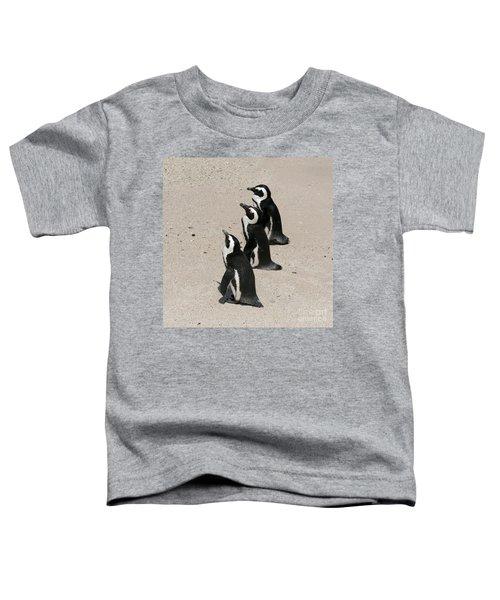 Three African Penguins Toddler T-Shirt