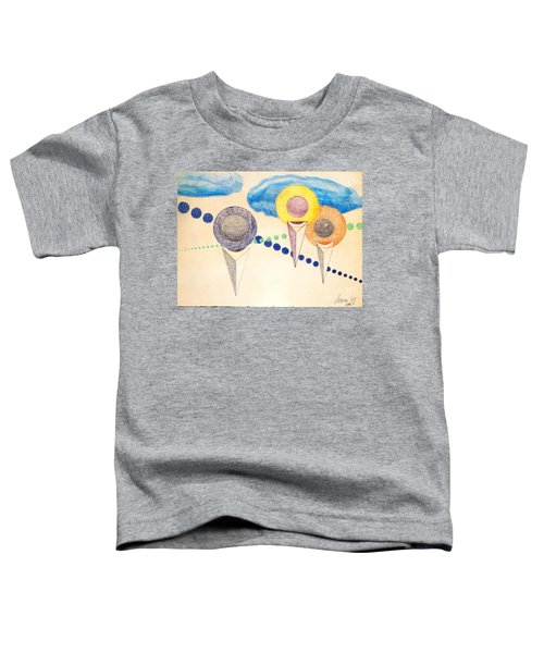 The Recession Of Depression 2 Toddler T-Shirt by Rod Ismay