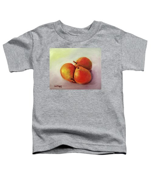 Three Pears Toddler T-Shirt