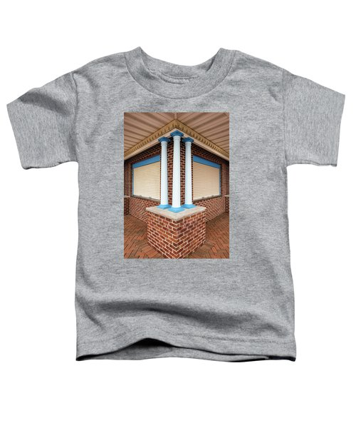 Three Pillars At The Refreshment Stand Toddler T-Shirt