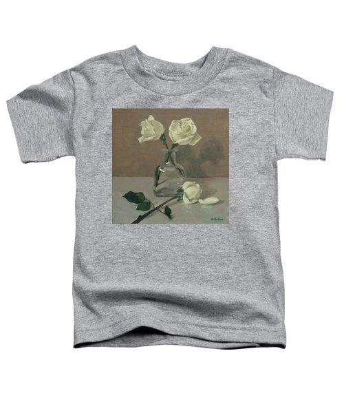 Two Roses In A Tequila Bottle Toddler T-Shirt