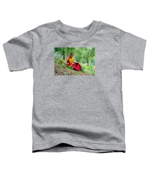 Tibetan Doctor In Lahav Forest Toddler T-Shirt