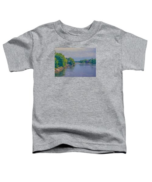 Tidal Inlet In Southern Maine Toddler T-Shirt