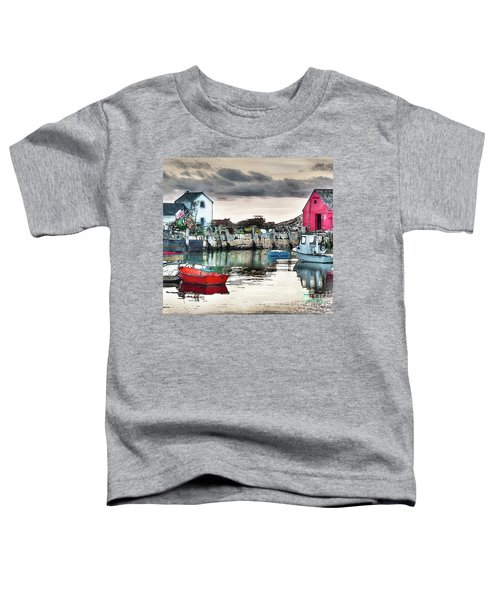 Tide's Out Toddler T-Shirt