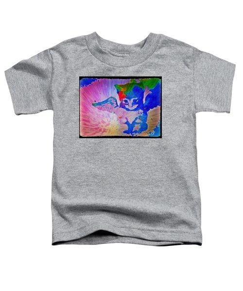 Tie Dye Tiger Toddler T-Shirt