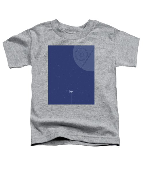 Tie Fighter Defends The Death Star Toddler T-Shirt