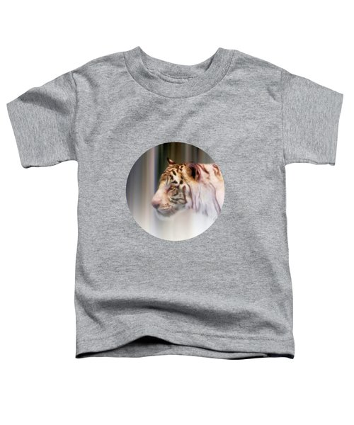 Tiger In The Mist Toddler T-Shirt