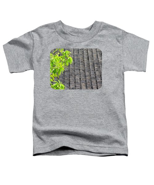 Tiled Roof Toddler T-Shirt by Ethna Gillespie