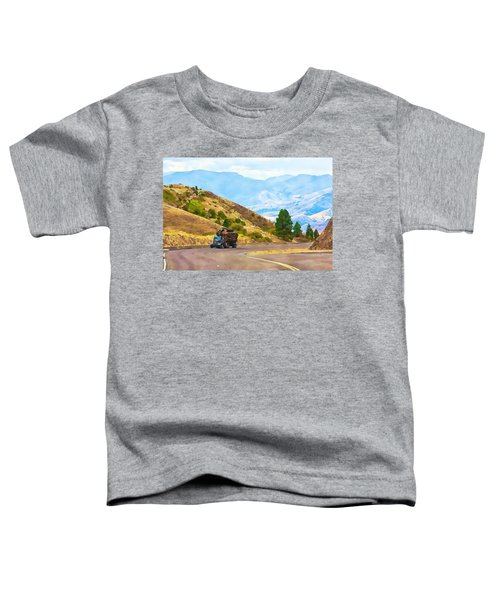 Timbers Truck In Idaho Toddler T-Shirt