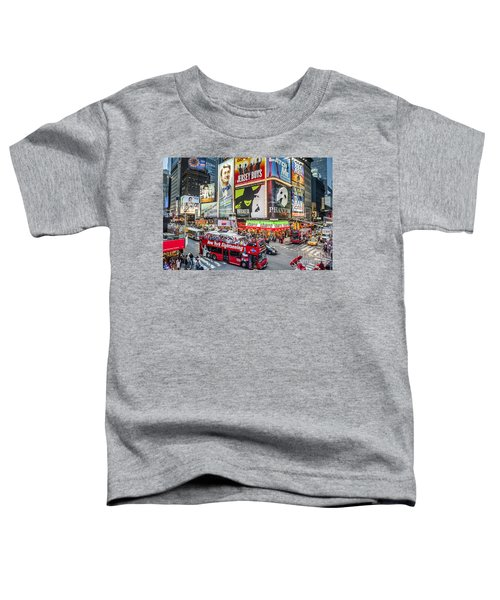 Times Square II Toddler T-Shirt