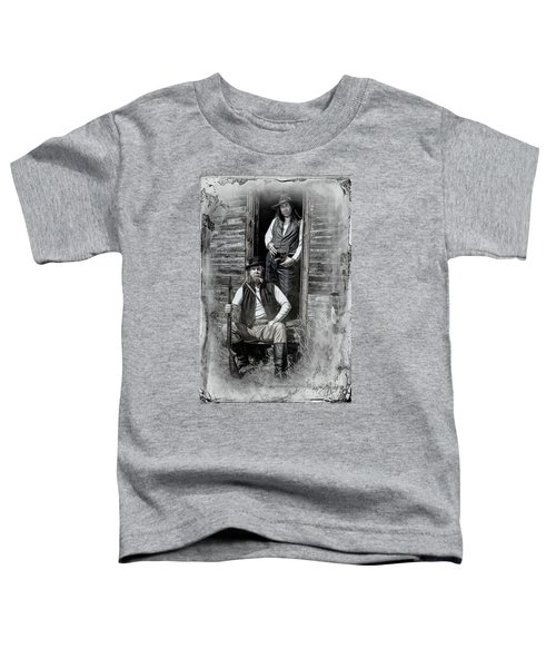 Tintype Portrait Reproduction Toddler T-Shirt