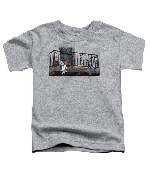 Tiny Southwest Balcony Toddler T-Shirt