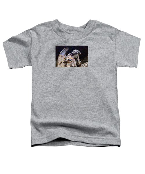 Tired Angel Toddler T-Shirt