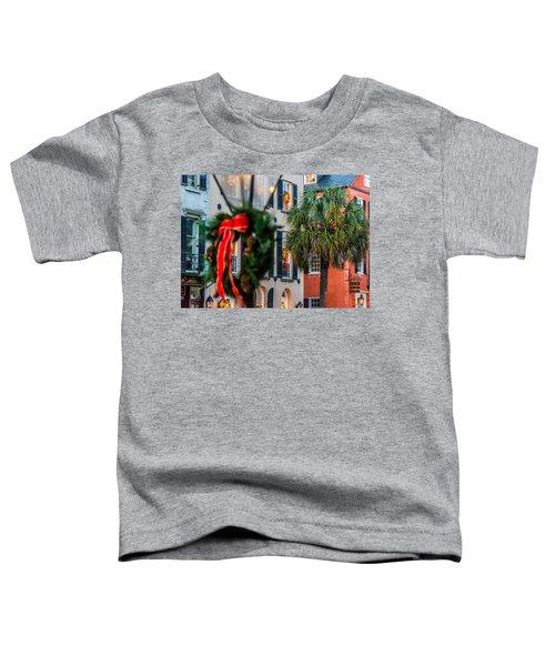 Tis The Season - Charleston Sc Toddler T-Shirt