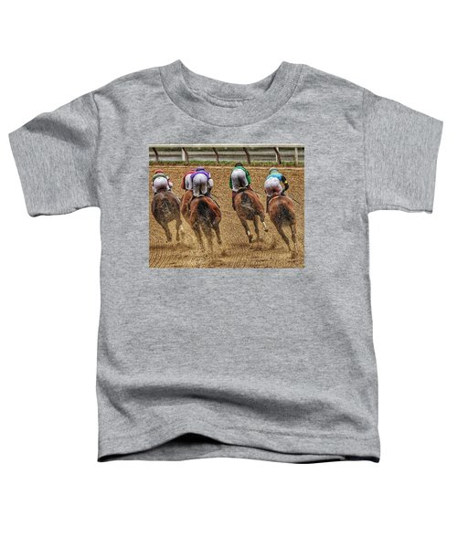 To The Finish Toddler T-Shirt