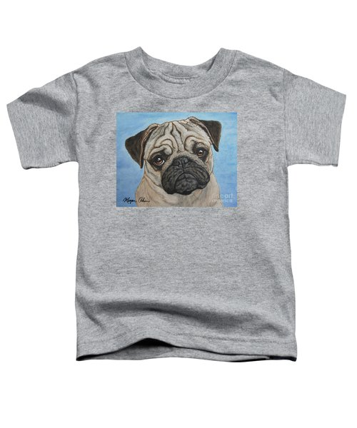 Toby The Pug Toddler T-Shirt