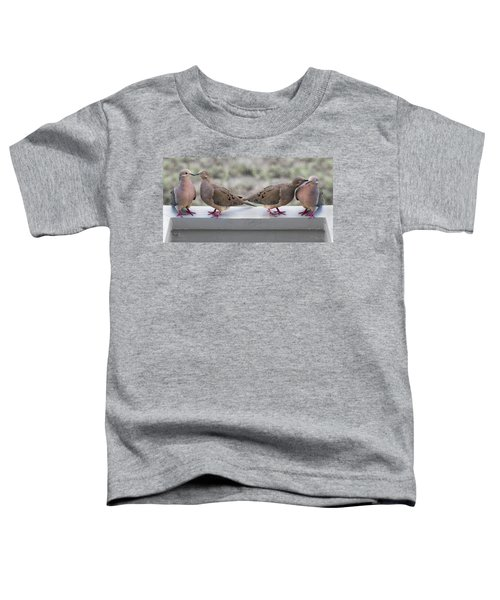 Together For Life Toddler T-Shirt by Betsy Knapp
