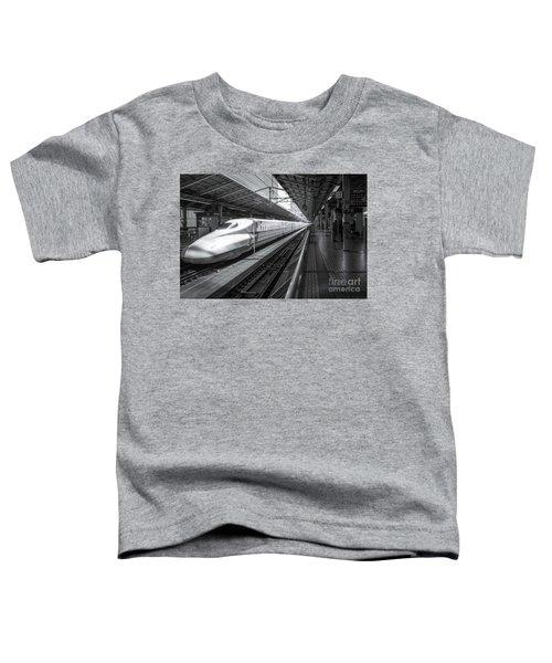 Tokyo To Kyoto, Bullet Train, Japan Toddler T-Shirt