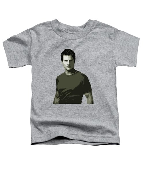 Tom Cruise Cutout Art Toddler T-Shirt