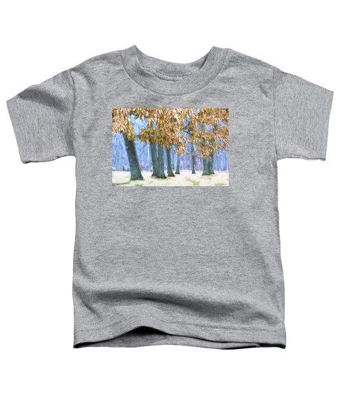 Tones Of Winter Toddler T-Shirt
