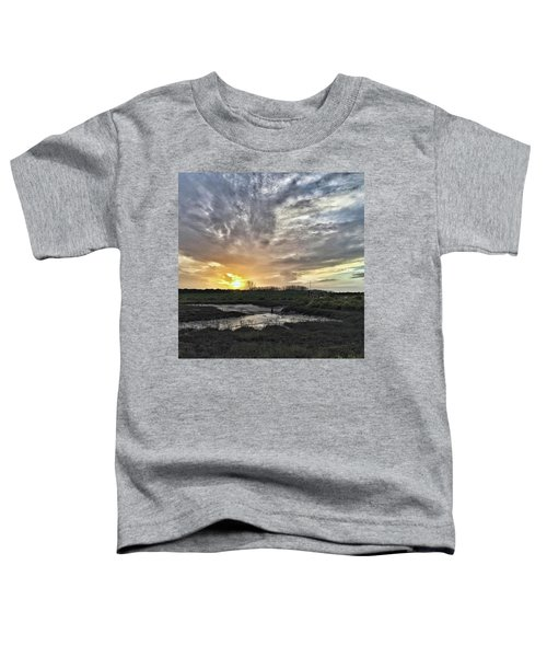Tonight's Sunset From Thornham Toddler T-Shirt
