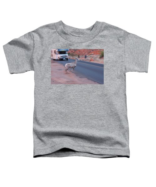 Tourists Intrusion In Nature Toddler T-Shirt