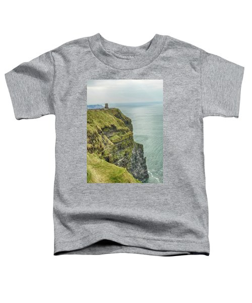 Tower At The Cliffs Of Moher Toddler T-Shirt