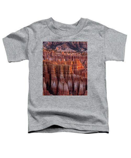 Towers Of Bryce Toddler T-Shirt
