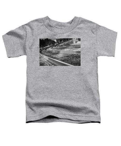 Tracks Through Historic Buford Toddler T-Shirt