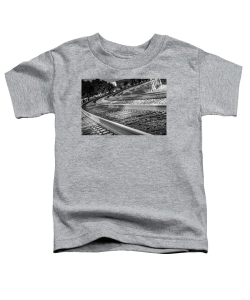 Tracks Through Historic Buford Toddler T-Shirt