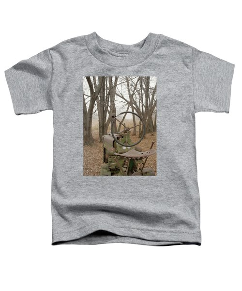 Tractor Morning Toddler T-Shirt