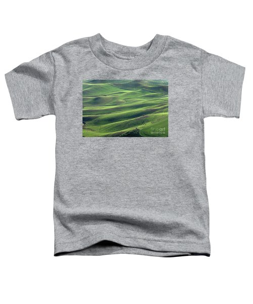 Tractor Tracks Agriculture Art By Kaylyn Franks Toddler T-Shirt