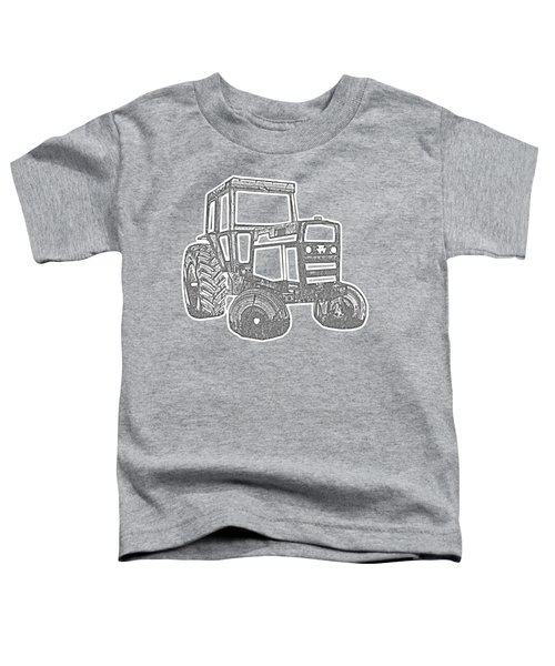 Tractor Transparent Toddler T-Shirt