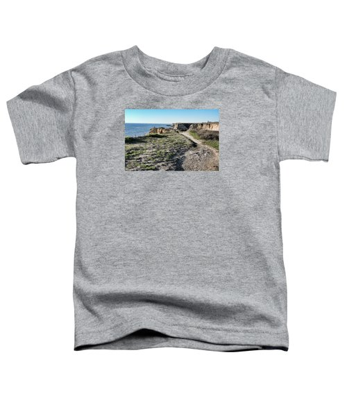 Trail On The Cliffs Toddler T-Shirt