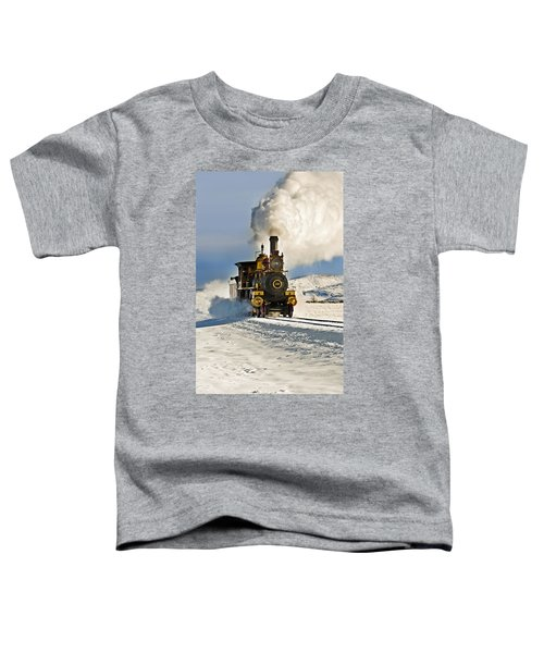 Train In Winter Toddler T-Shirt