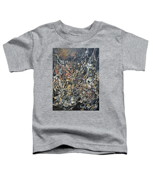Toddler T-Shirt featuring the mixed media Transformation by Joanne Smoley