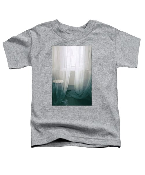 Transparent White Curtains Toddler T-Shirt