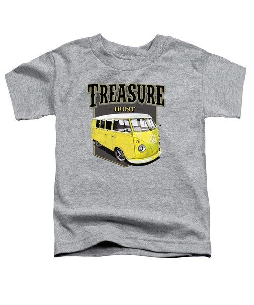 Treasure Hunt Bus Toddler T-Shirt