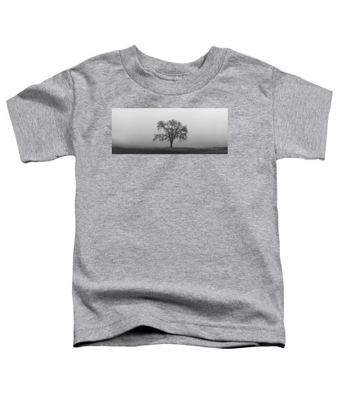 Tree Alone In The Fog Toddler T-Shirt