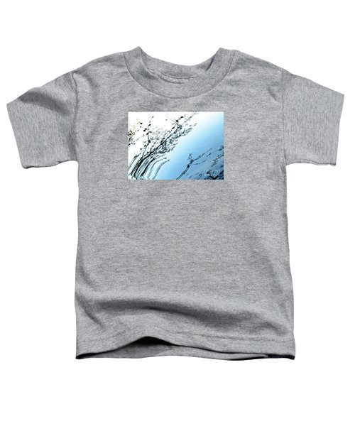 Tree Branches Reflected In Car Hood 3 Abstract Toddler T-Shirt