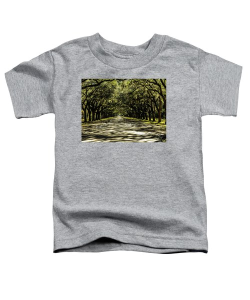 Tree Covered Approach Toddler T-Shirt