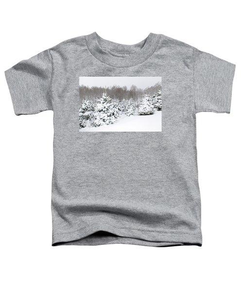Fraser Snow Toddler T-Shirt