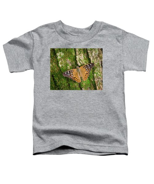 Toddler T-Shirt featuring the photograph Tree Hugger by Bill Pevlor