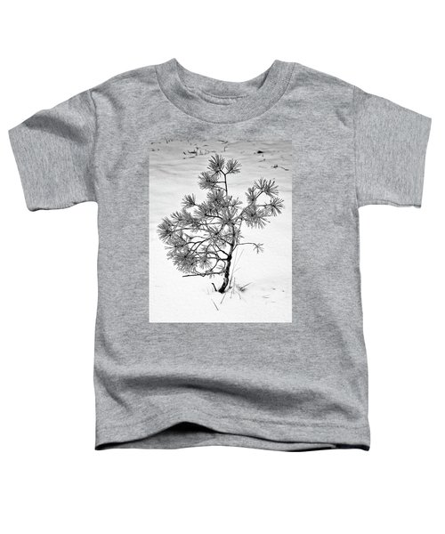 Tree In Winter Toddler T-Shirt