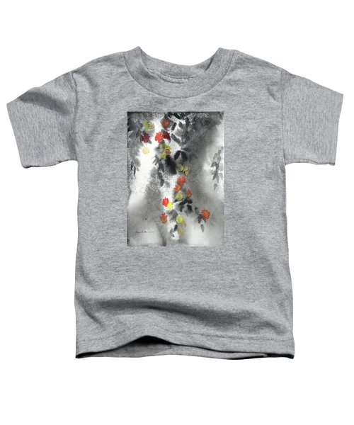 Tree Shadows And Fall Leaves Toddler T-Shirt