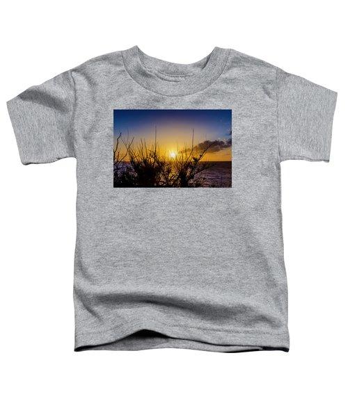 Tree Sunset Toddler T-Shirt