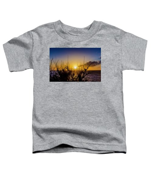 Tree Sunset Toddler T-Shirt