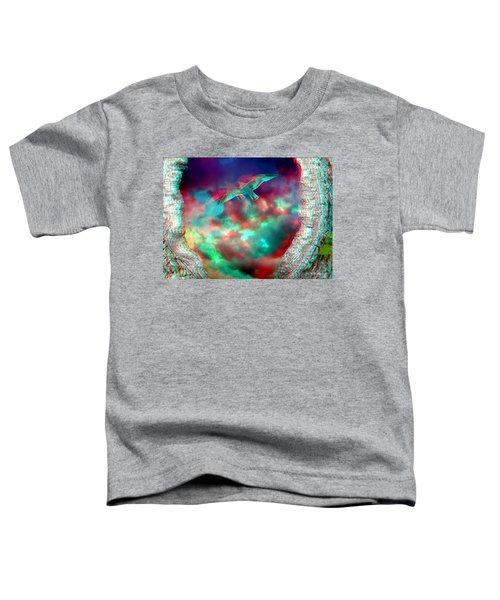 Tree Trunk Portal Toddler T-Shirt